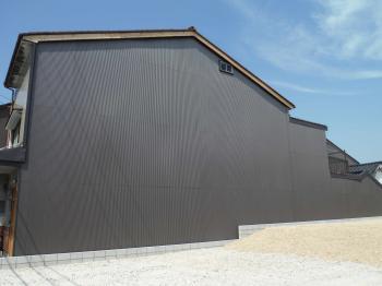 すっきりとキレイに仕上がりました。 白山 リックプロ 外壁屋根
