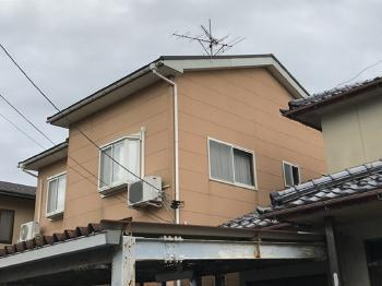 火災保険を使って修理しました。 白山 リックプロ 外壁屋根