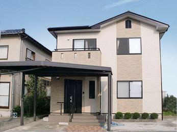 ファインシリコンフレッシュ塗装で長期間お家の美観を保持します。