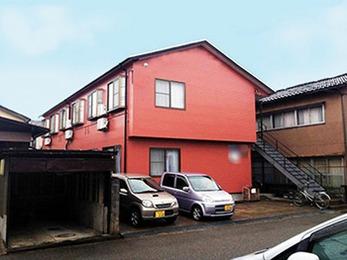 外壁:ファインシリコンフレッシュ、屋根:サーモアイSi