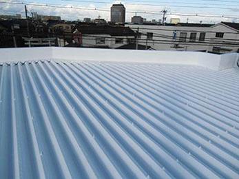 雨漏り修繕と屋根塗装工事