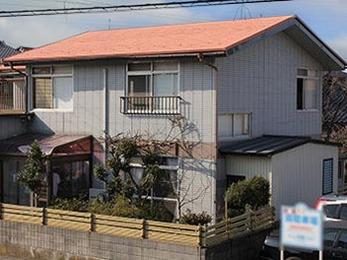 屋根の断熱・遮熱・防音効果で2階も快適に!!